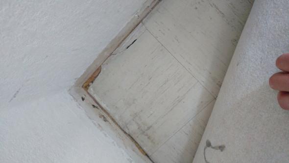 Foto der Platten - (Gesundheit, Wohnung, Asbest)