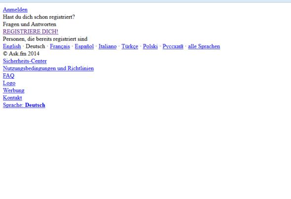 So sieht das aus gerade - (Internet, ask.fm)