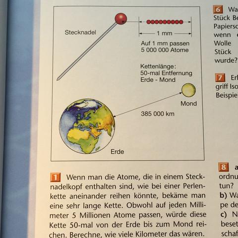 Aufgabe 1 - (Chemie, Atom)