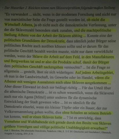 J. Bleicken - (Schule, Geschichte, Leistungskurs)