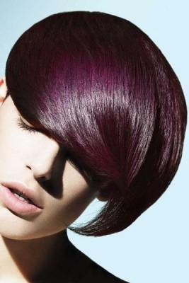 Aubergine auf braunes haar? (Freizeit, färben, tönen)