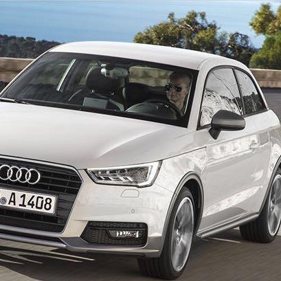 Weiß Audi A1 Sportback - (Farbe, Audi, A1)