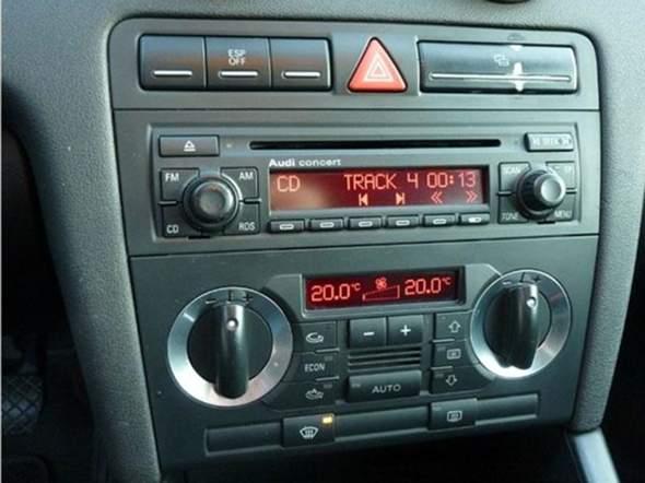 Audi a3 1.6 normales Radio umtauschen?