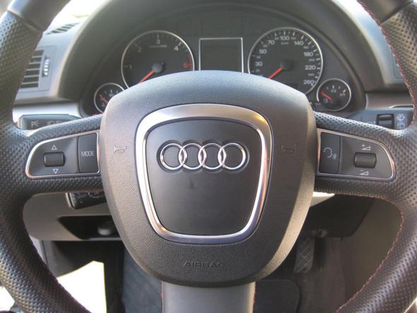 Audi A3 8p Multifunktionslenkrad, was kann es?
