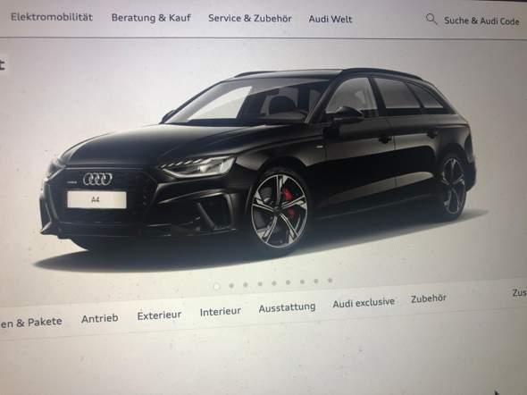 Audi A4. Gut für Fahranfänger?