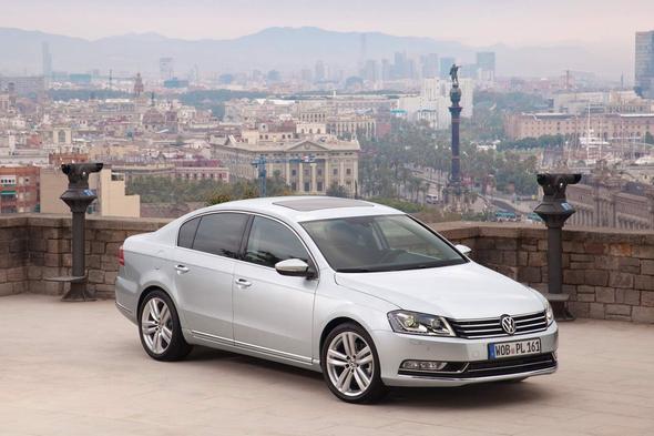 vw passat - (Auto, VW, Mercedes-Benz)
