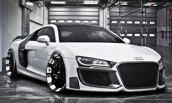 Audi R8 mit Regula-Tuning - (Auto, Tuning, Sportwagen)