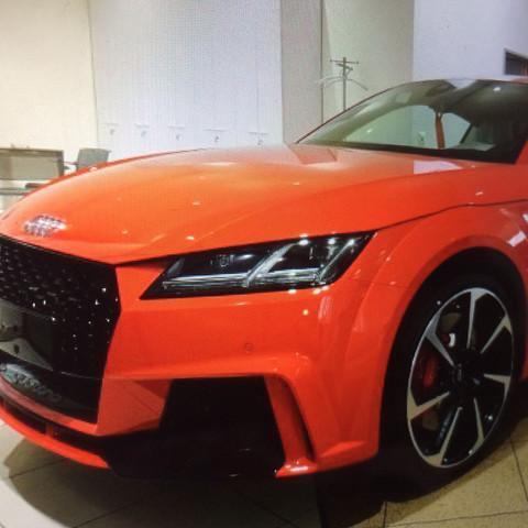 Audi TTRS - (Sport, Auto, Audi)