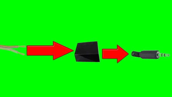 Adapter - (audio, Lautsprecher, Kabel)