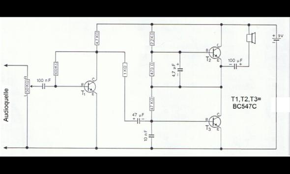 schaltplan - (Computer, Elektronik, Kondensator)