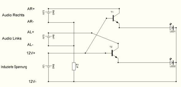 Audio Verstärker selbstbau (Technik, Elektronik, Schaltung)