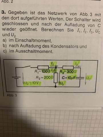 Auf - und Entladen von Kondensatoren?