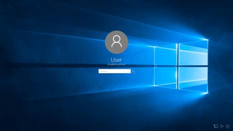 Anmeldebildschirm - (Windows, Windows 10, E-Mail)