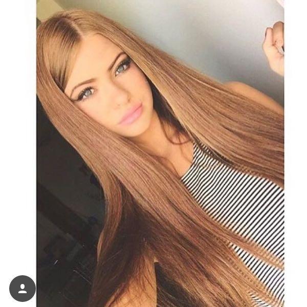 Blonde haare dunkel farben grun