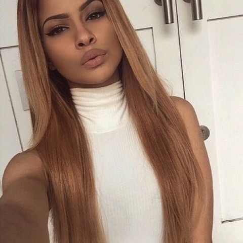 Blondierte Haare Braun Tönen