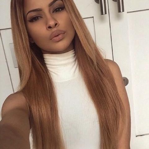 Auf blondierte Haare eine dunklere Tönung? (blond)