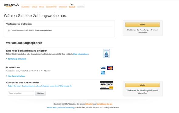 Noch alles okey - (Amazon, Bestellung)