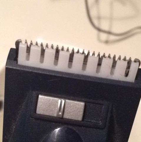"""Schneidet dieser Rassierer jz 0 mm oder 1 mm usw (mit diesem """"Aufsatz"""" - (Haare, Rasierer)"""