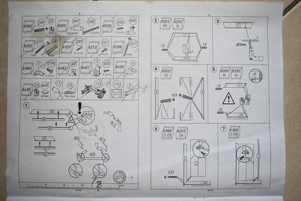 Aufbauanleitung Eckschrank Bauen Mbel Handwerk