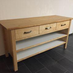 Aufbauanleitung Värde Kücheninsel von Ikea? (Möbel, Ikea-Möbel)