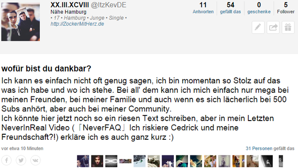 31 Likes in 10 Minuten O.o - (ask.fm, Likes, fame)