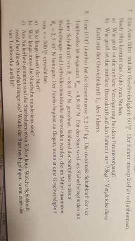 Aufgabe 2. Newtonsches Gesetz?