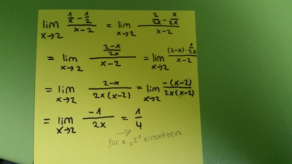 Rechnungsweg - (Mathematik, differentialrechnung)