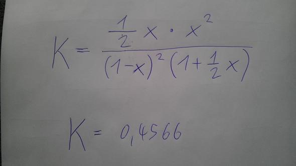 die geschilderte Gleichung - (Mathematik, auflösen)