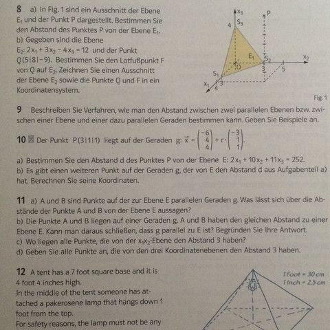 Aufgabe 10 b ist mein Problem - (Schule, Mathe, Mathematik)