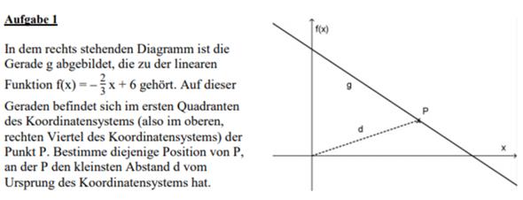 Aufgaben mit dem Satz des Pythagoras als Nebenbedingungen?