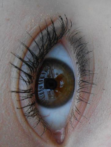 aus kleiner Entfernung - (Augen, Fotografie)