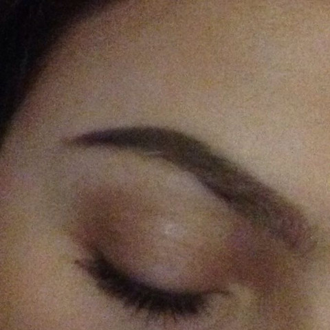 Augenbrauen Nachmalen Und übermalen Mädchen Beauty Make Up