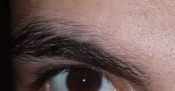 - (Männer, Schönheit, Augenbrauen)