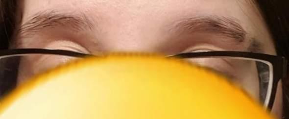 Augenbrauen slit - schlecht oder gut?
