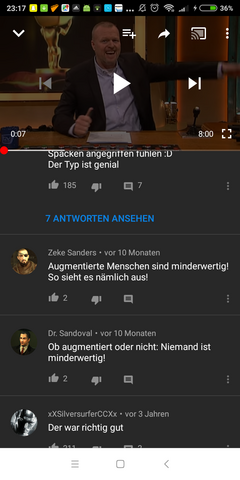 - (Freizeit, Youtube, Video)