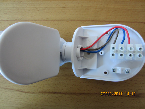 Super Lampe Anschliessen Integriertem Lampe Bewegungsmelder Mit Mit TN29