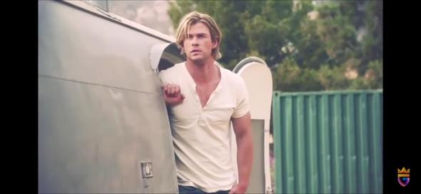 AUs welchem Film stammt dieses Bild (Chris Hemsworth)?