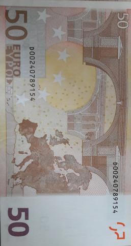 Aus Welchem Land Kommt Dieser 50 Euroschein Geld Euro
