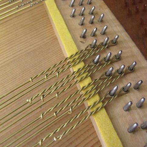 Hammerflügel  - (Musik, Klavier, Instrument)