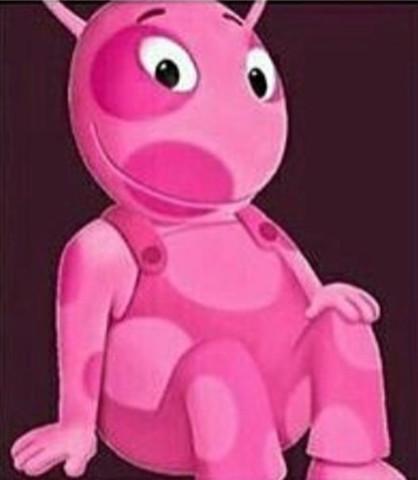 Rosa monster mit flecken - (Filme und Serien, suche , Alte Kinderserie)