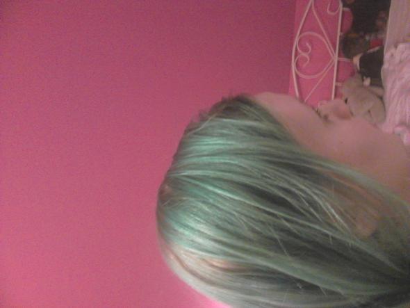 meine aktuelle haarfarbe - (Haare, Haarfarbe, blond)