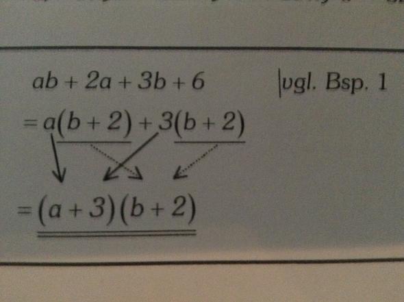 Beispiel Nummer 3 Ausklammern - (Schule, Mathe, Mathematik)