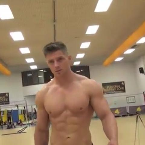 Steve  Cook Schulter - (Fitness, Schulter)