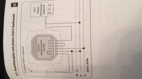 austausch analogethermostate gegen neue digitale thermostate f r eine fussbodenheizung. Black Bedroom Furniture Sets. Home Design Ideas