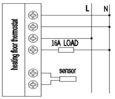 Thermostat neu 2 Anschluss - (Elektrik, Heizung, Anschluss)
