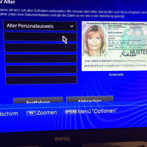 Ps4 Personalausweis