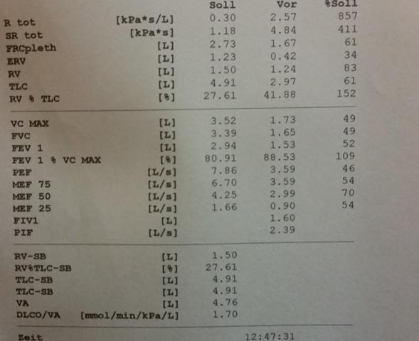 Lufu - (Asthma, Lungenfunktion, Obstruktion)