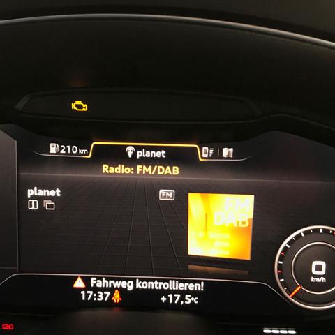 Auto Abgaskontrollsystem Warnleuchte Kfz Motor Audi