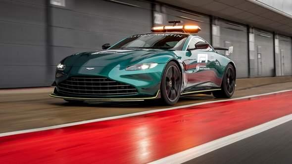 Auto ähnlich wie ein Aston Martin safety car?