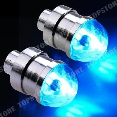 auto led ventilkappe reifen felgen leuchte lampe blau. Black Bedroom Furniture Sets. Home Design Ideas